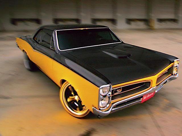 GTO 66 Amarelo e Preto