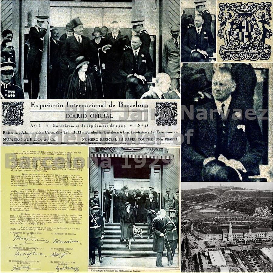 Foto del diario oficial de la Exposición de Barcelona 22 de mayo de 1929