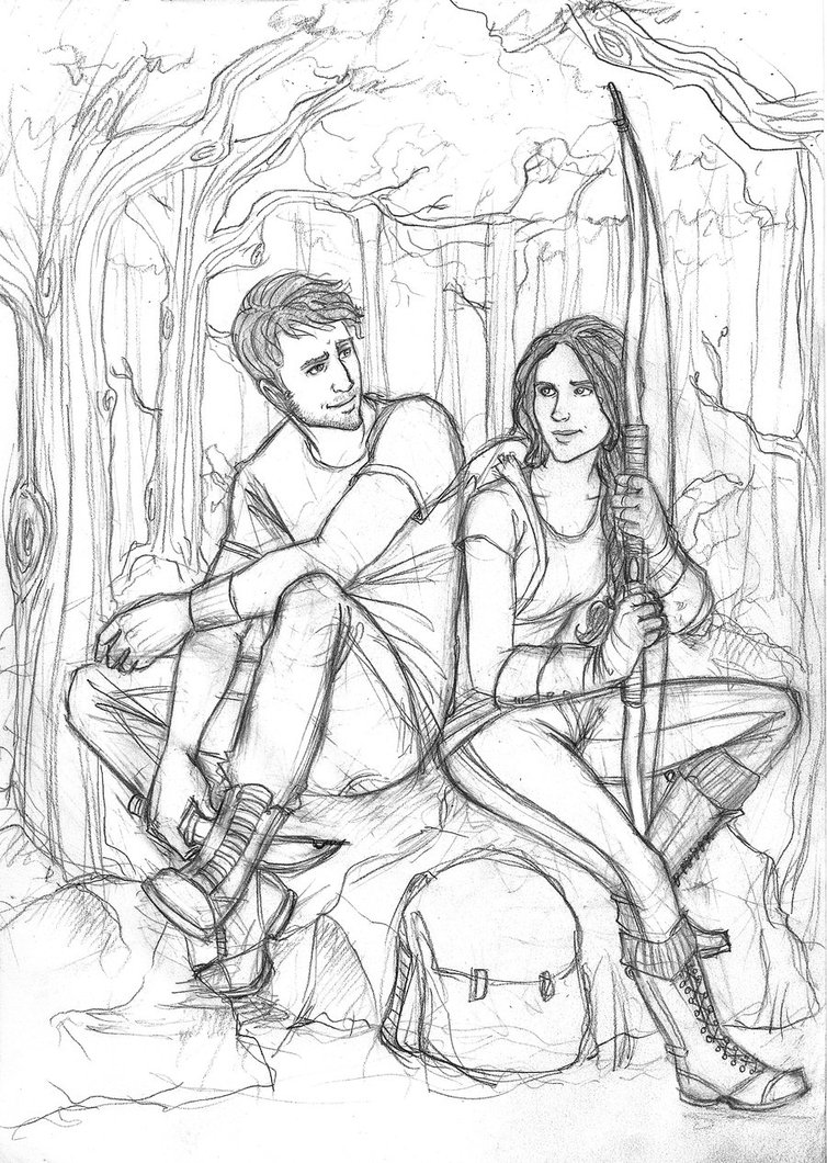 Image Result For Mockingjay Coloring Page