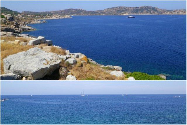 Costa de Calvi en Corcega