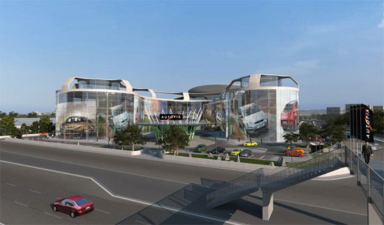 Mall Autopia Europia penjualan mobil terbesar 5