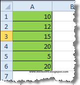 La función DESVEST.P sujeta a una condición en Excel.