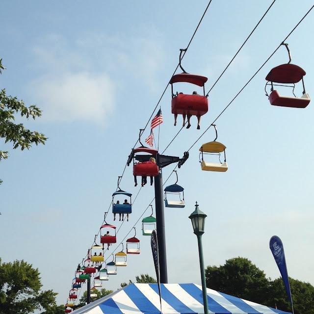 Minnesota State Fair Skyglider