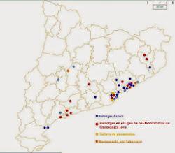 Distribució dels Rellotges de Sol realitzats