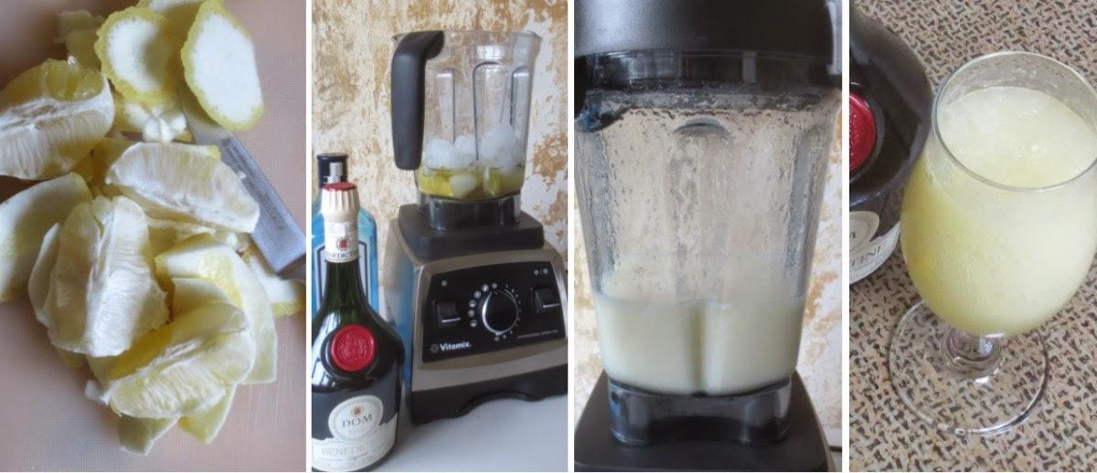 Zubereitung Bénédictine-Zitronen-Spritzer