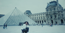 Me and  IM Pei Pyramid addition to the Louvre