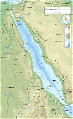 Red Sea Map