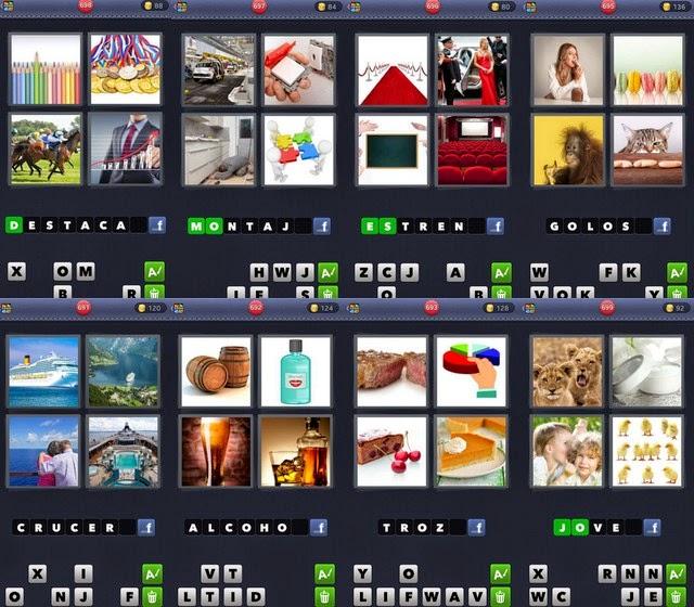 Respuestas 4 Fotos 1 Palabra