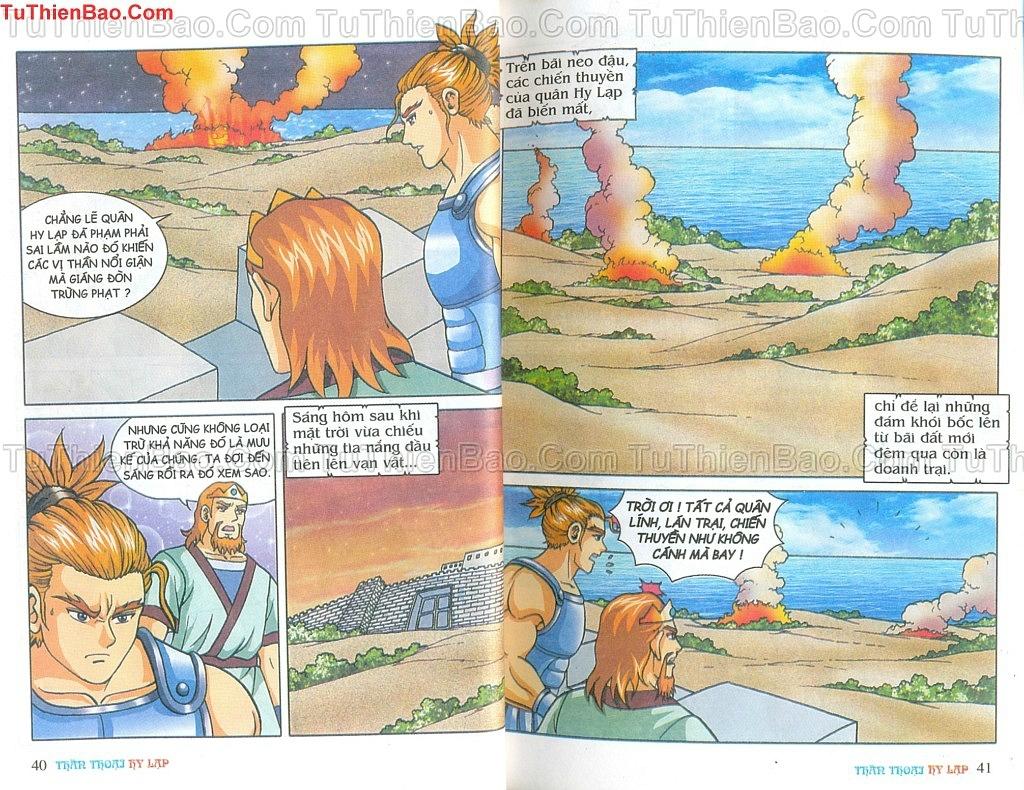 Thần thoại Hy Lạp Chapter 14 - Trang 19