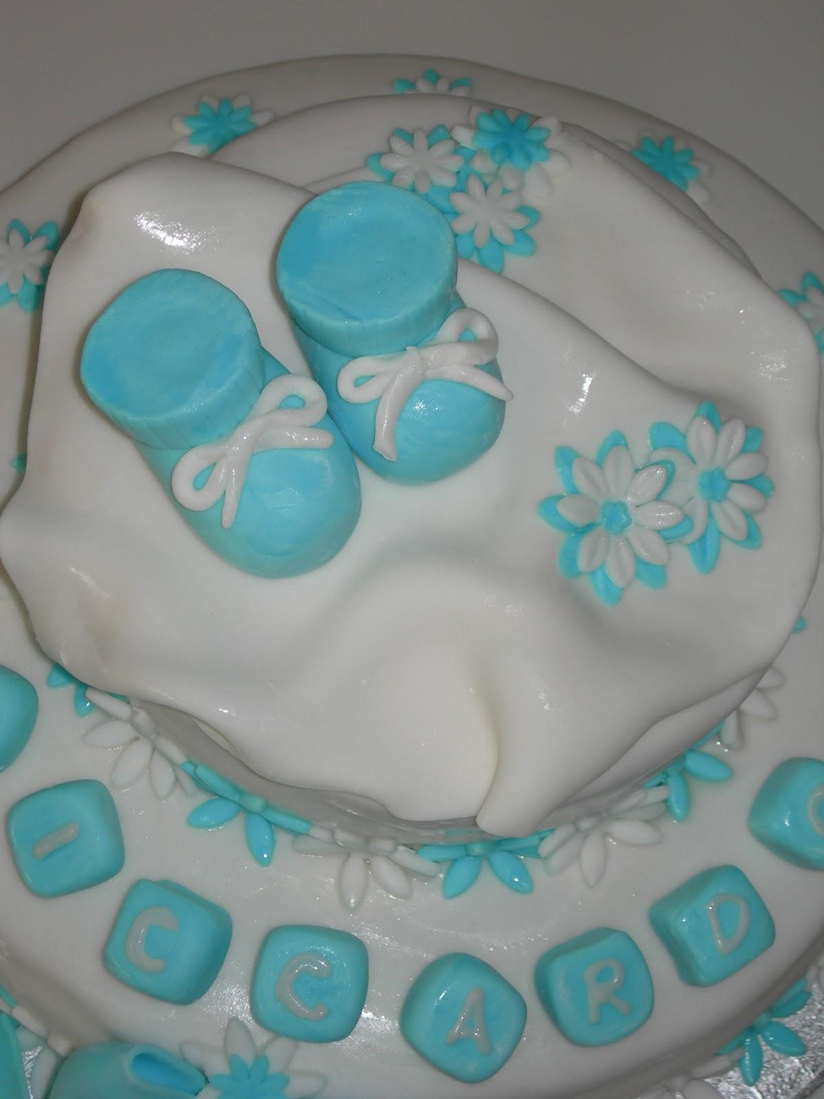 Favoloso Le torte di Fede: Il battesimo di Riccardo!! EJ79