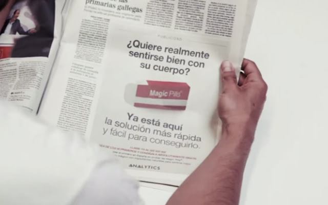 COCA COLA CAMPAÑA MAGIC PILLS