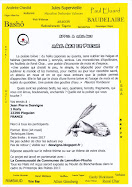 Appel Mail Art et Poésie - Mail art call - Llamada de Arte Postal - Progetto de Art Postal - Ein Ma