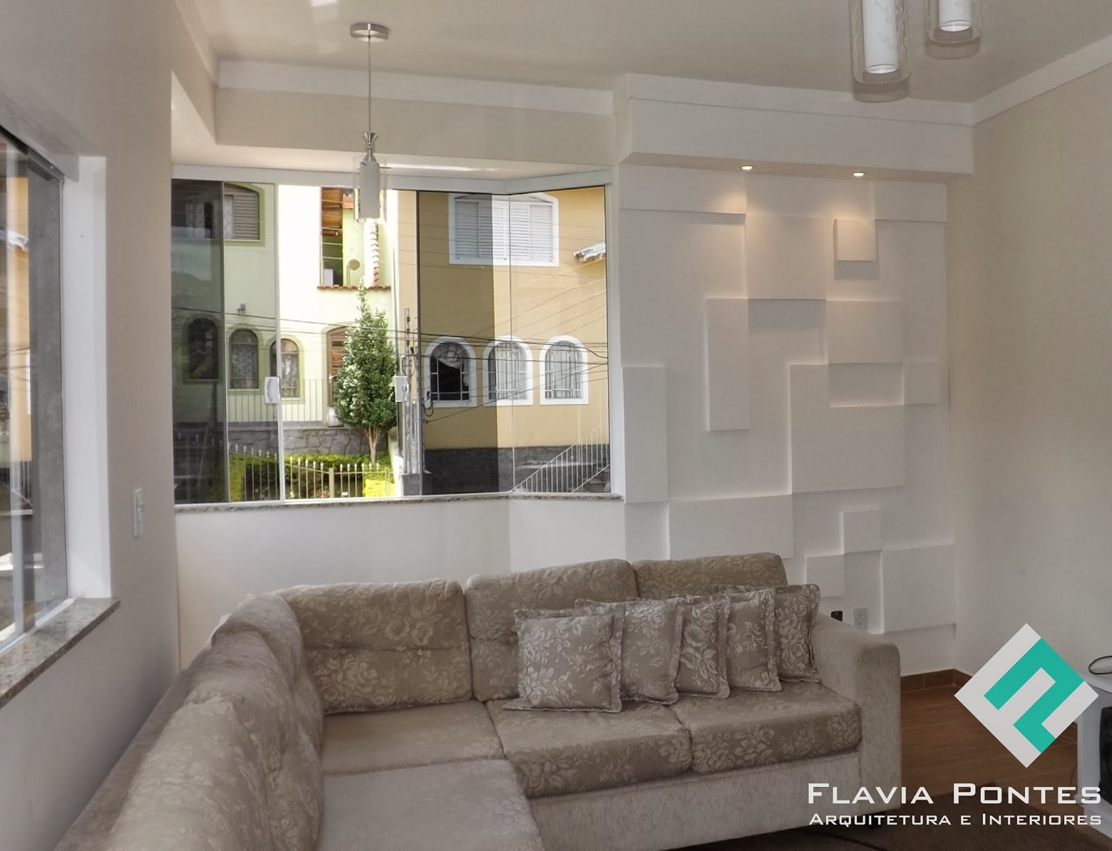 Flavia pontes arquitetura - Placas para decorar paredes ...