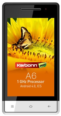 Karbonn A6 available online at Rs. 5,390