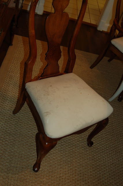12 devonshire More chair reupholstery