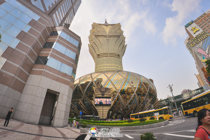 The Grand Lisboa Macau