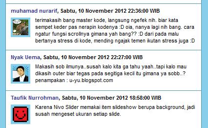 Recent Comment có thông báo số lượng comment mới của Blogger