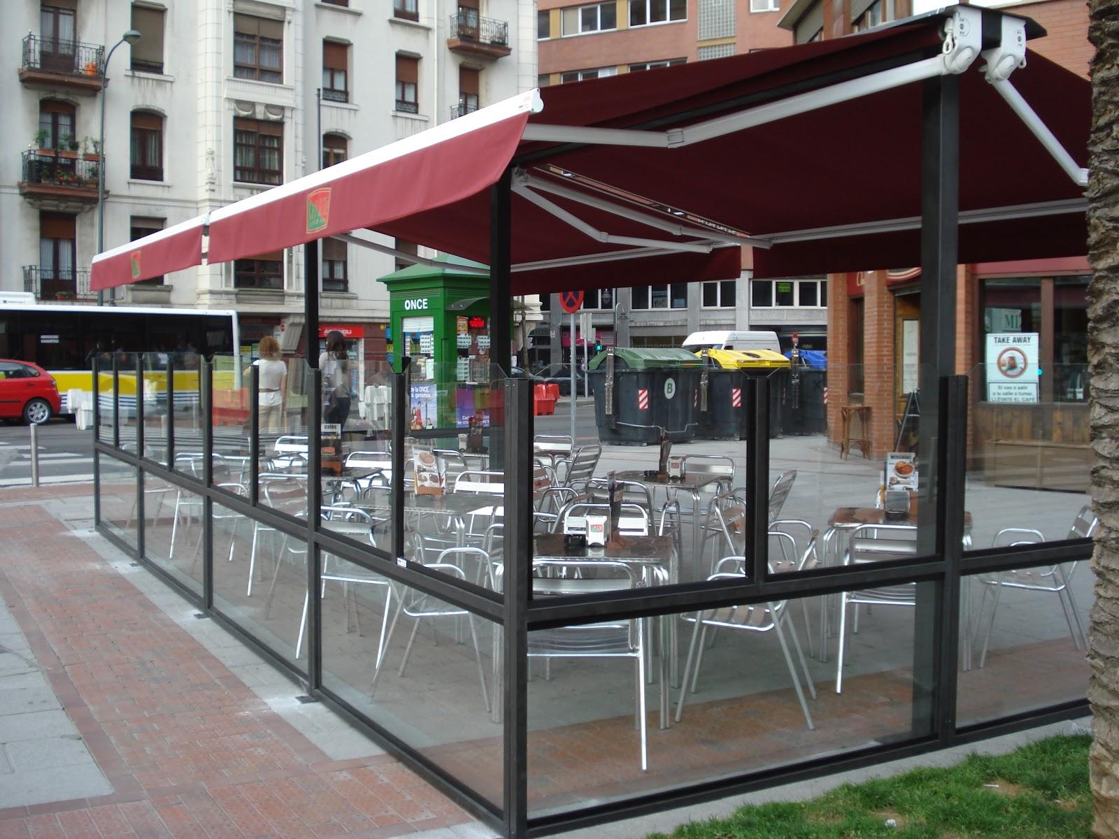 Terrazas climatizadas para hosteleria galeria de terrazas - Toldos terraza bar ...