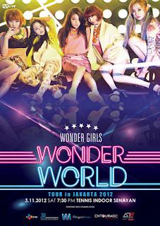 Konser Wonder Girls