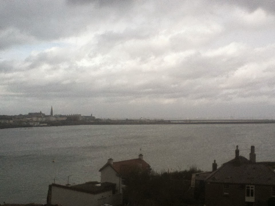 Dun Laoghaire from Sandycove Tower