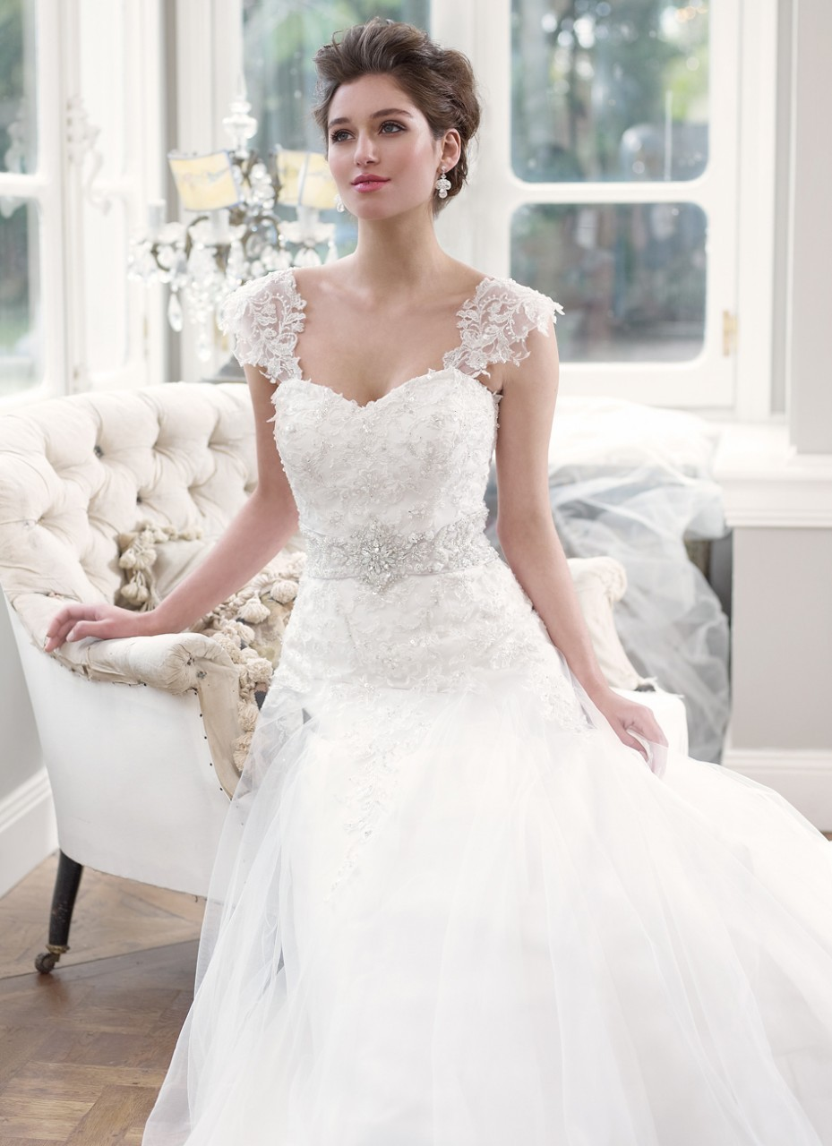 Wedding Dresses With Lace Short Sleeves 48