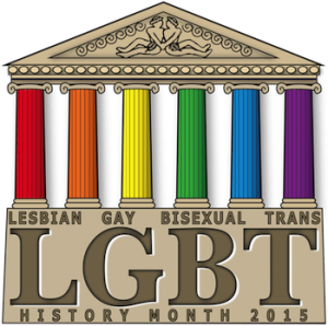 LGBT History Month logo for 2015