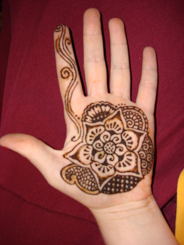 Simple Mehndi Designs for Hands