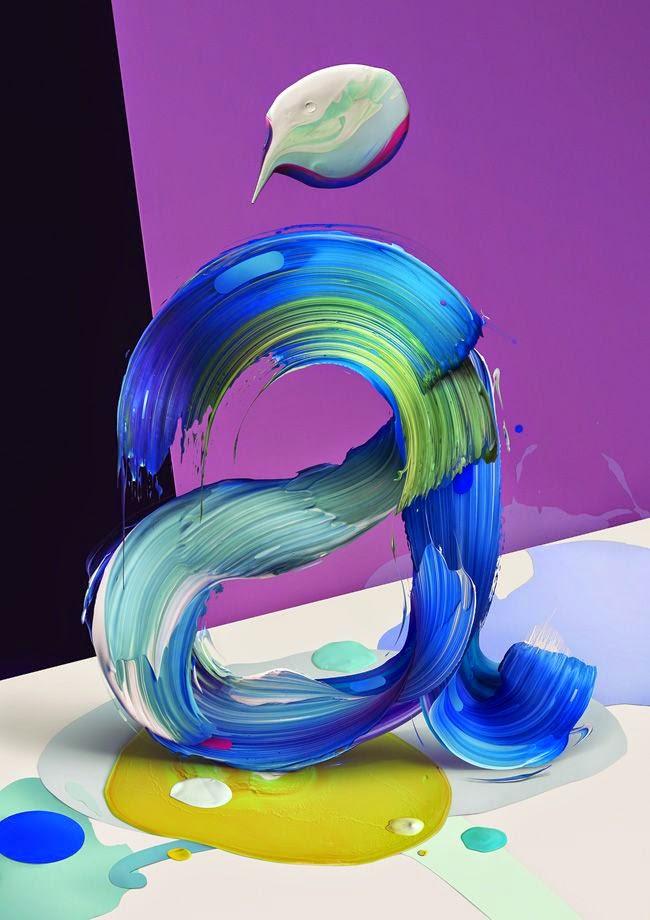 Amazing 3D Typography of Pawel Nolbert