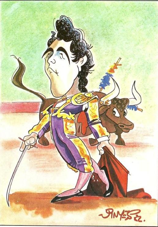 del toro al infinito: recordando a fernando vinyes, sus caricaturas