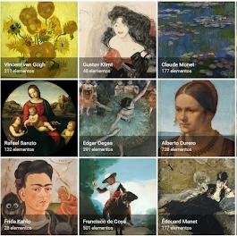 Google ARTS. Explora colecciones de todo el mundo.
