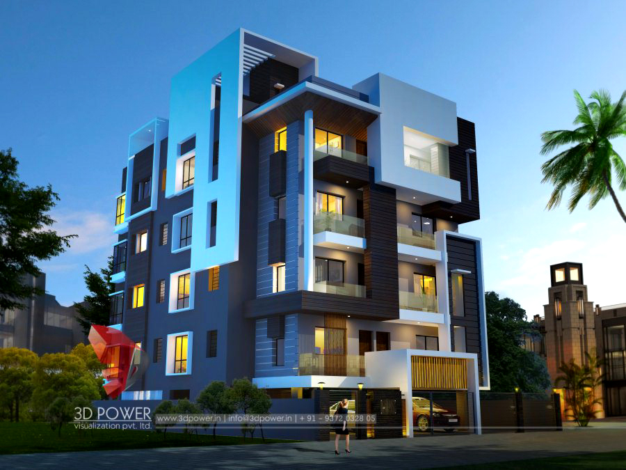 Ultra modern home designs home designs 3d exterior home for Ultra modern office building design