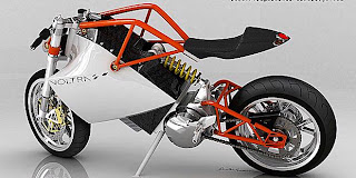 Motor Listrik Konsep Voltra Bersasis Minim Tanpa Tangki Modifmotors