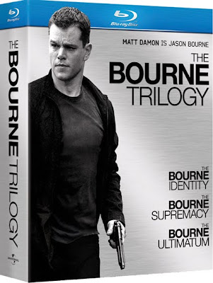 The Bourne Trilogy (2002-2007) 720p BDRip Dual Español Latino-Inglés