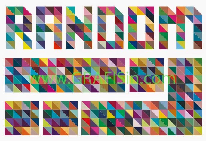 Mewarnai Objek Secara Acak atau Random Color Objek di CorelDraw