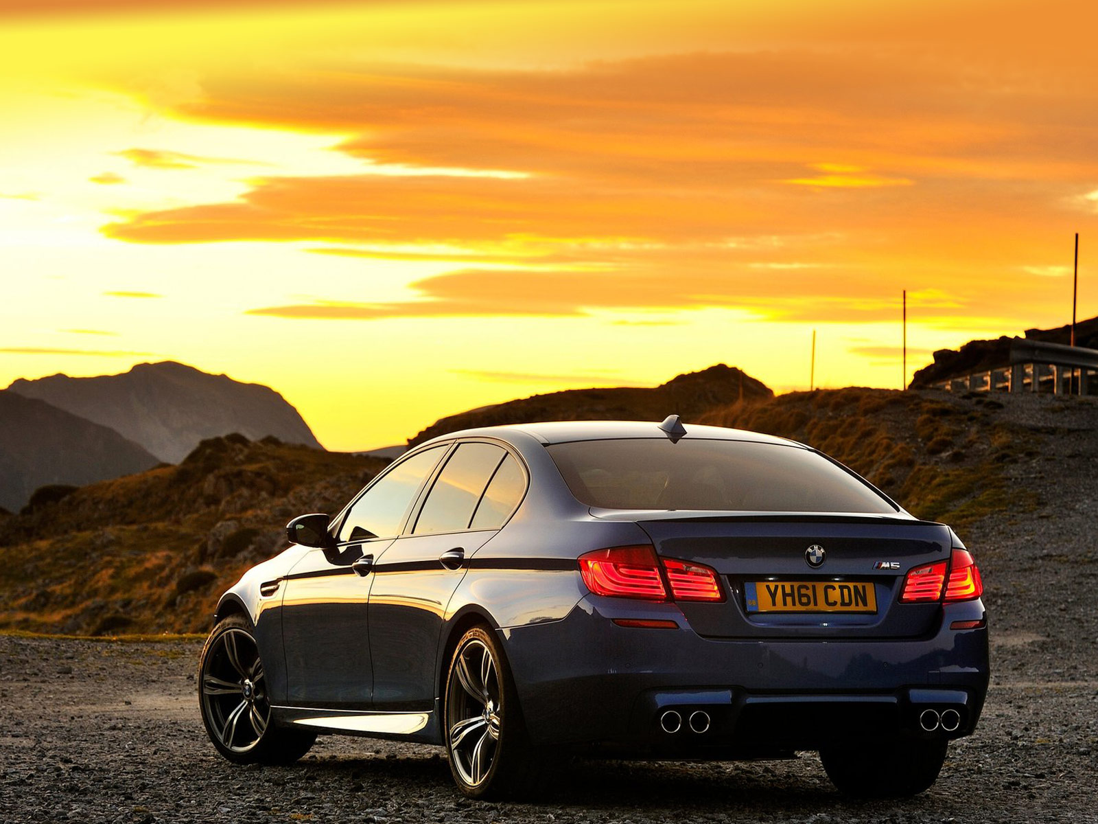 2012 Bmw M5 Uk Desktop Wallpapers