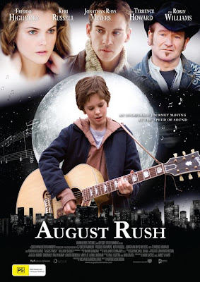 Watch August Rush 2007 BRRip Hollywood Movie Online | August Rush 2007 Hollywood Movie Poster