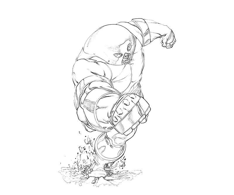 marvel juggernaut coloring pages - photo#7
