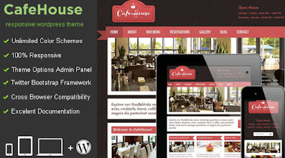 Free Download CafeHouse v4.0 Restaurant Retail WordPress Theme