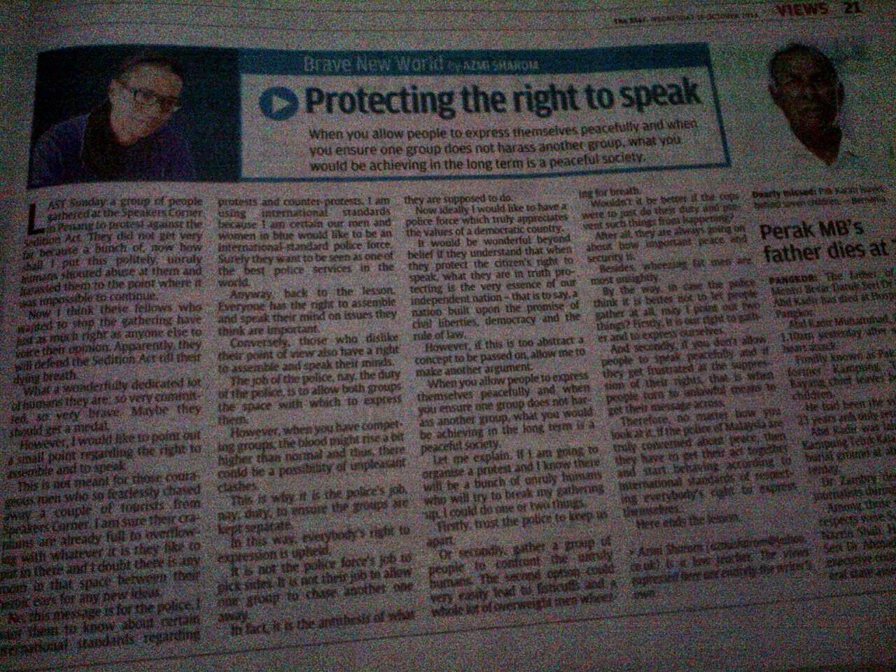 The Star pro DAP sengaja beri ruang Azmi Shahrom hina mahkamah