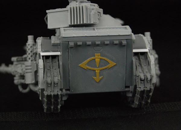 Warhammer 30k Sons of Horus  SOH+Predator+WIP+12