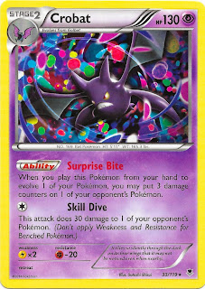 Crobat Phantom Forces Pokemon Card