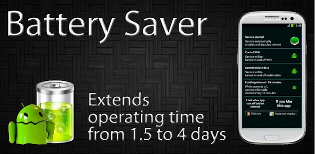 Battery Saver (1.5 to 4 days) v1.0 APK