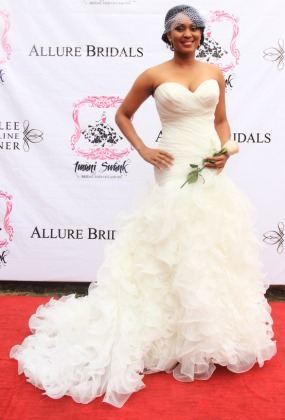 Superb Wedding Dresses 1 Fresh PHOTOS Nigerian Celebrities Posing