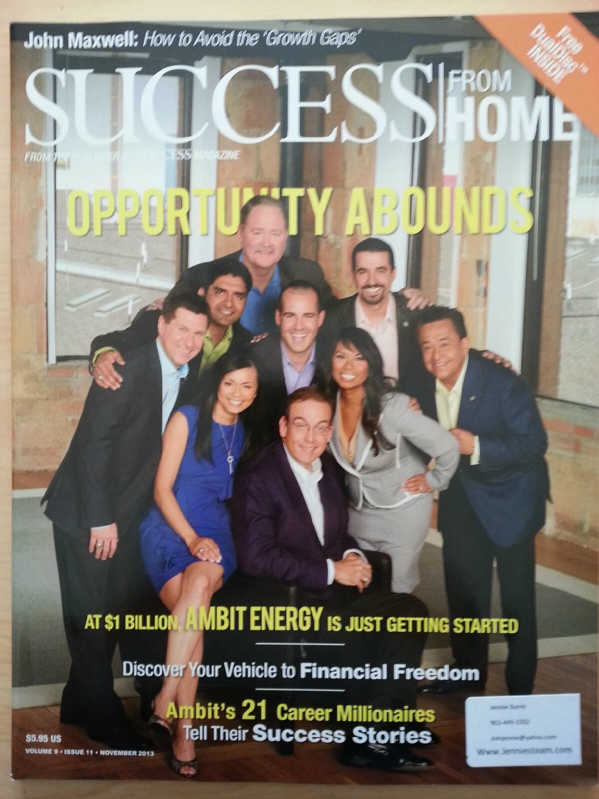 success from home magazine pdf