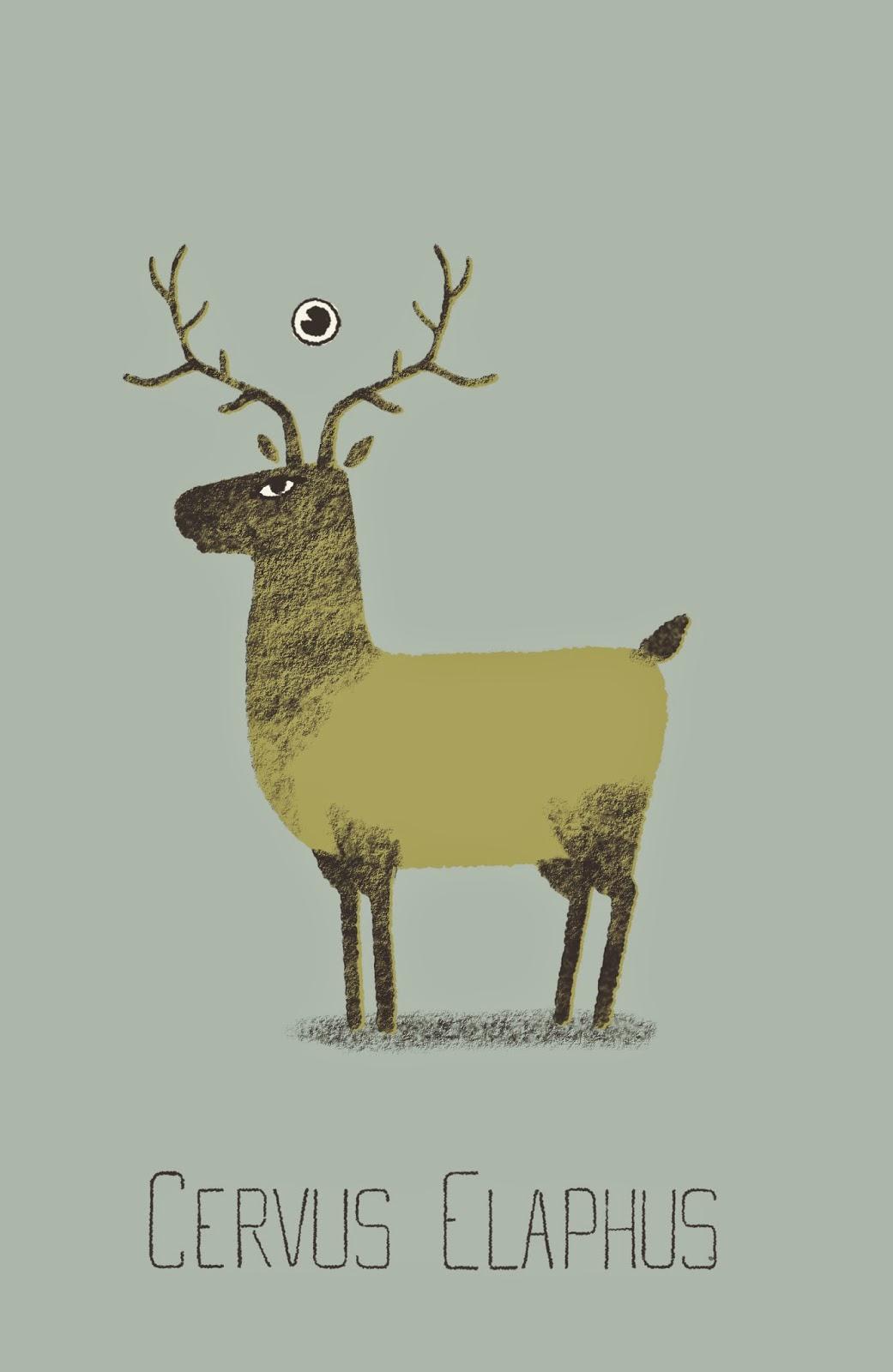 wilson dos santos deer cerf terres imaginees