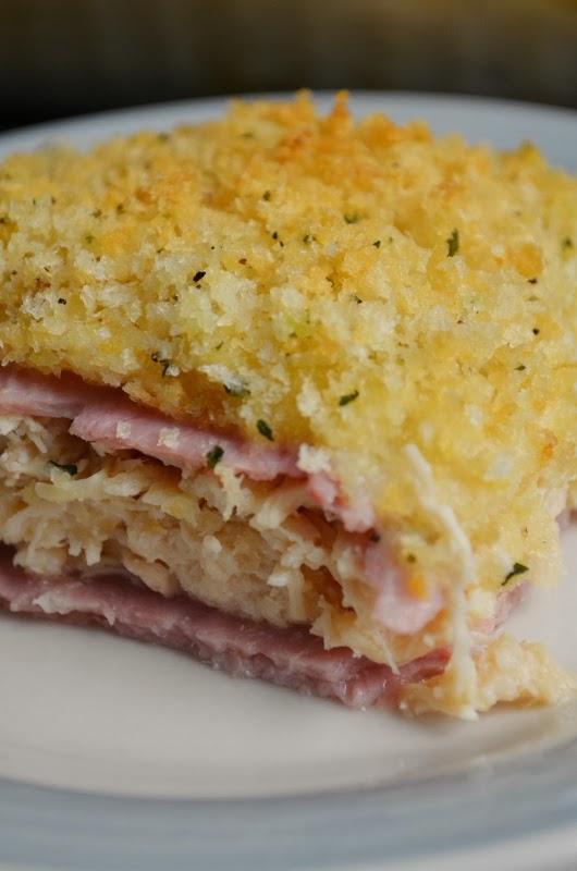 For the Love of Dessert: Chicken Cordon Bleu Casserole