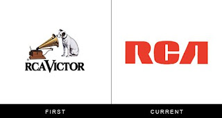 évolution du logo rca