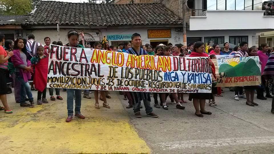 Territorio Tamabioy: Extracción minera en el Valle de Sibundoy, Departamento del Putumayo