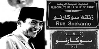 Nama Tokoh Indonesia sebagai nama Jalan di Negara Lain