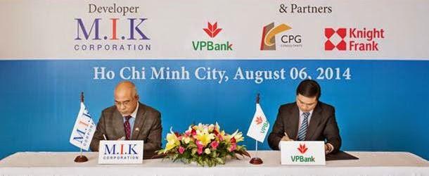 Ký kết tài trợ vốn VPBank